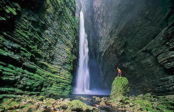 Découvrez le Parc National de la Chapada Diamantina au centre de Bahia, Brésil