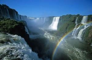 Iguazu cascades Brésil