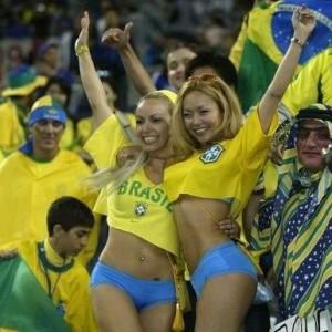 brésil coupe du monde supportrices