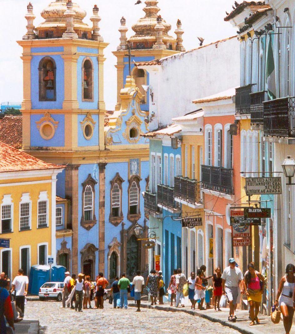 Salvador da Bahia : tat de Bahia : Brsil - m